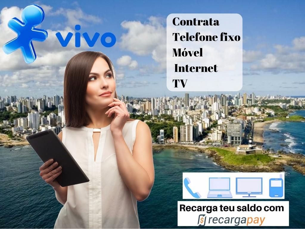 Vivo tem serviços de telefonia móvel e fixa, Internet e tv
