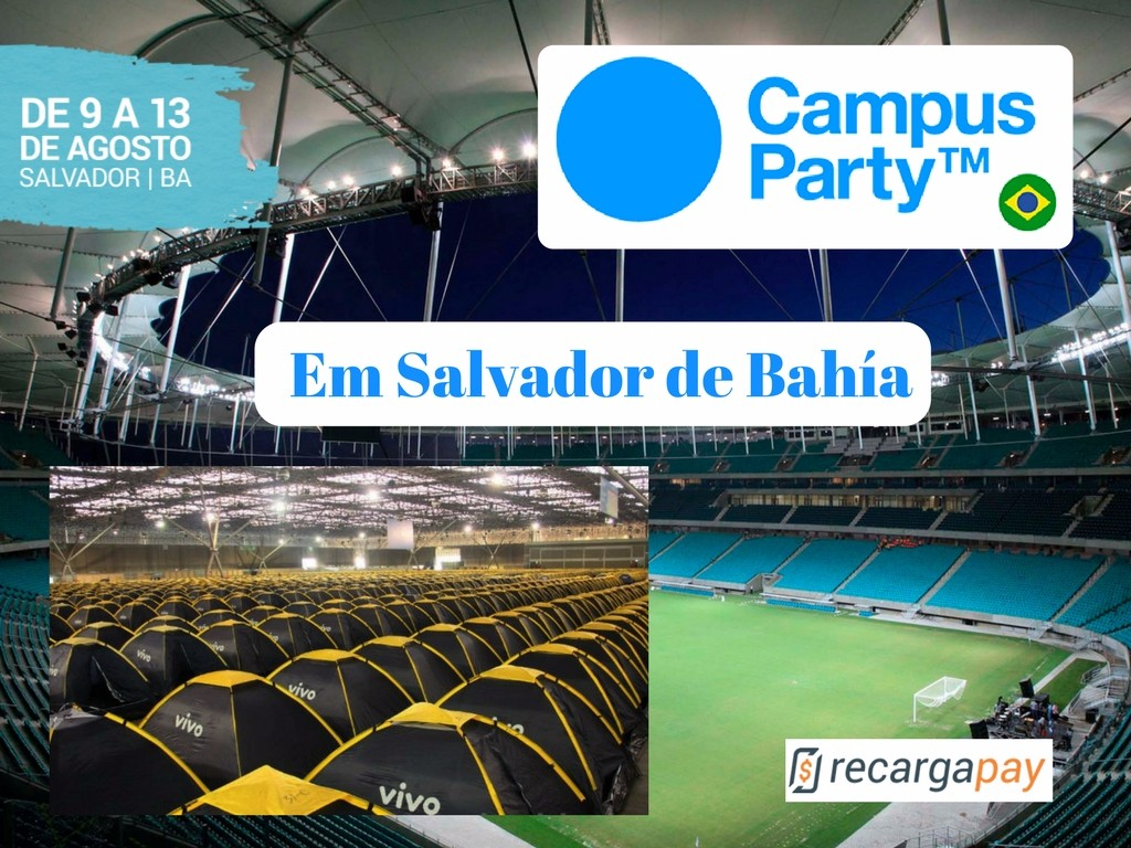 Campus Party em Salvador de Bahia