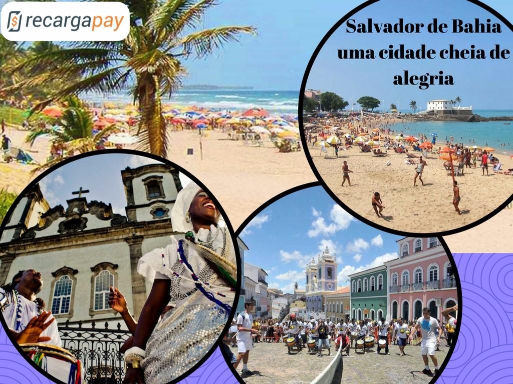 Salvador de Bahia, uma cidade cheia de color e alegria