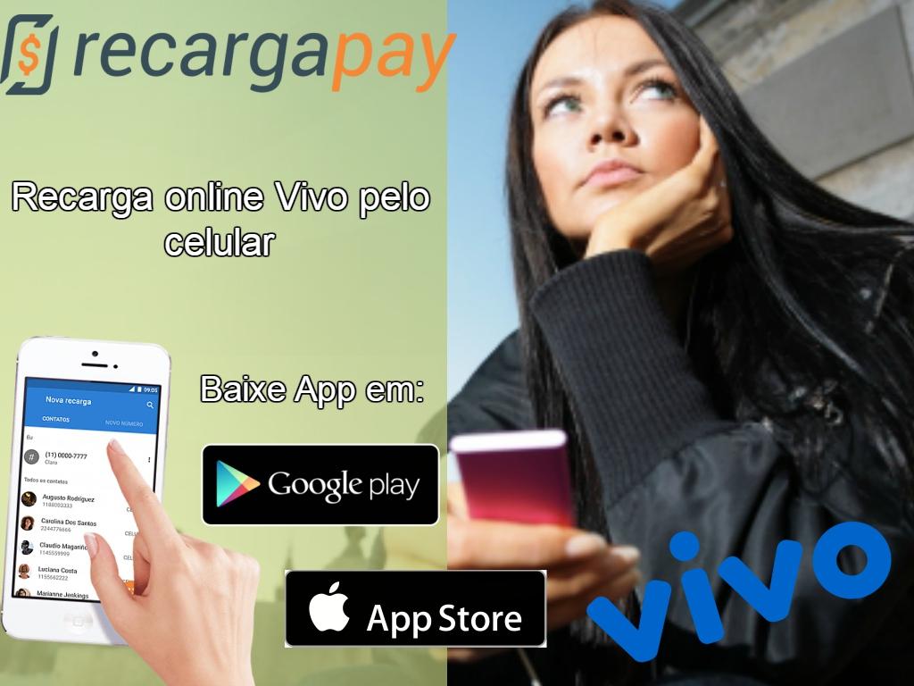 Aplicativo de recarga fácil de celular Vivo