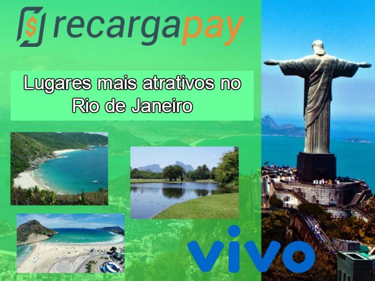 Lugares mais atrativos no Rio de Janeiro