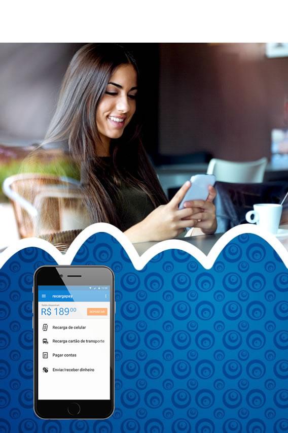 Recarga fácil Vivo pelo celular com Recargapay