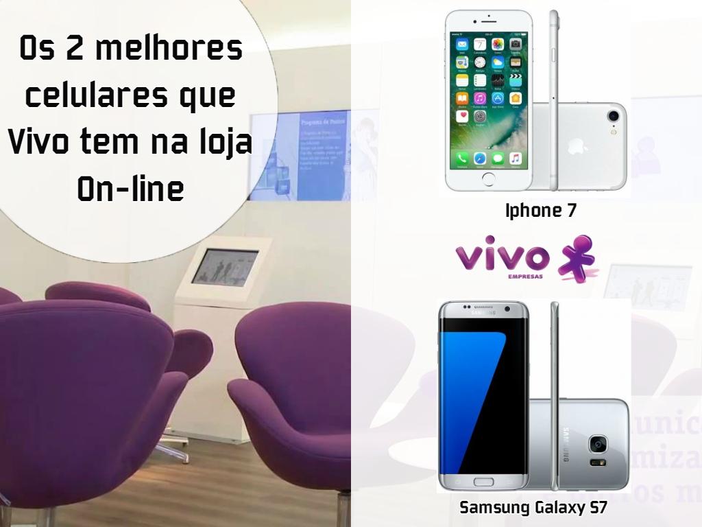 Os melhores celulares os tem Vivo em Recife