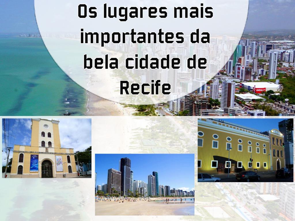 Os lugares da cidade de Recife