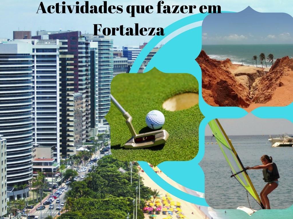 Actividades em Fortaleza