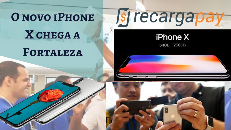 Novo iPhone X em Fortaleza