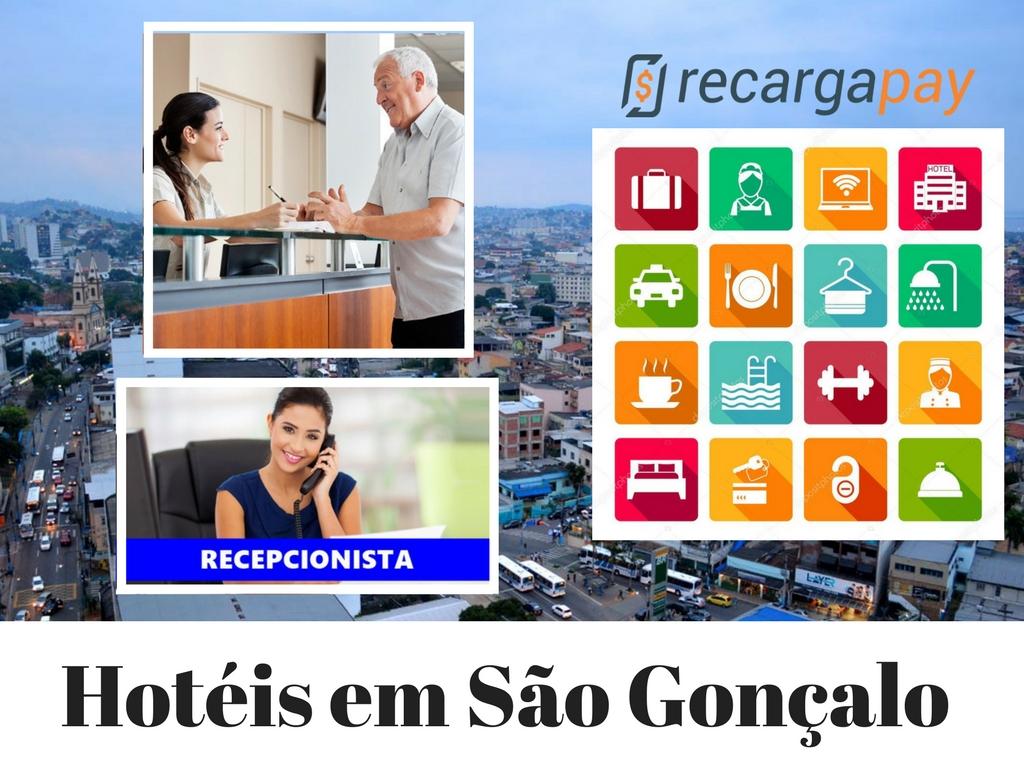 Hotéis em São Gonçalo para fazer seu recarga de saldo