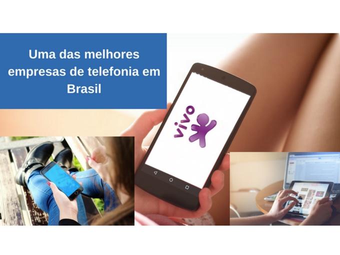 Uma das melhores empresas de telefonia em Brasil
