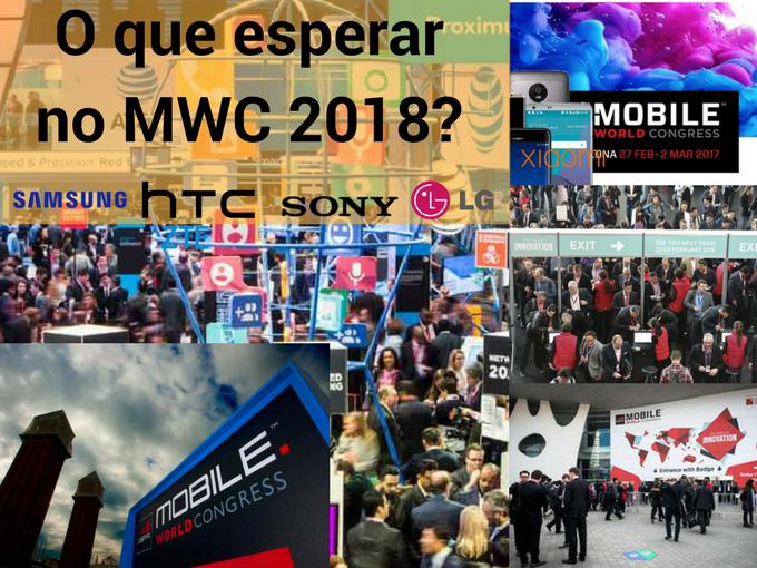 Surpresas do MWC 2018