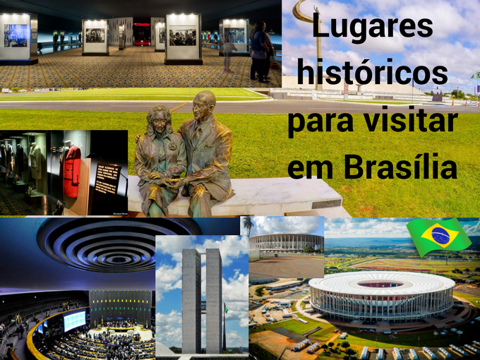 Lugares históricos em Brasília