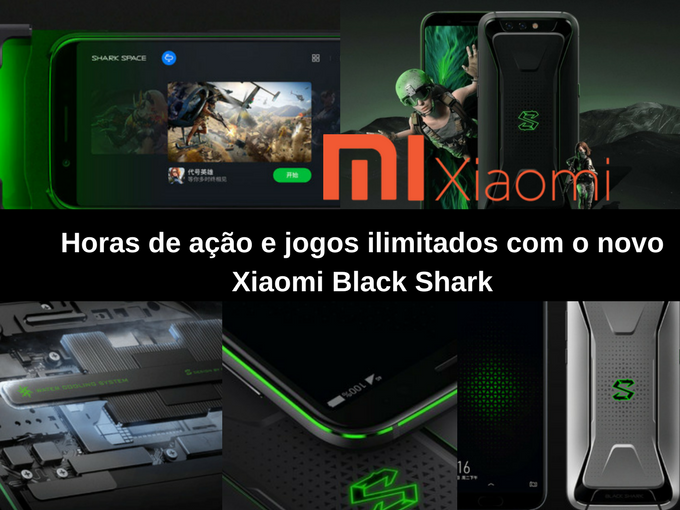 O novo Xiaomi Black Shark