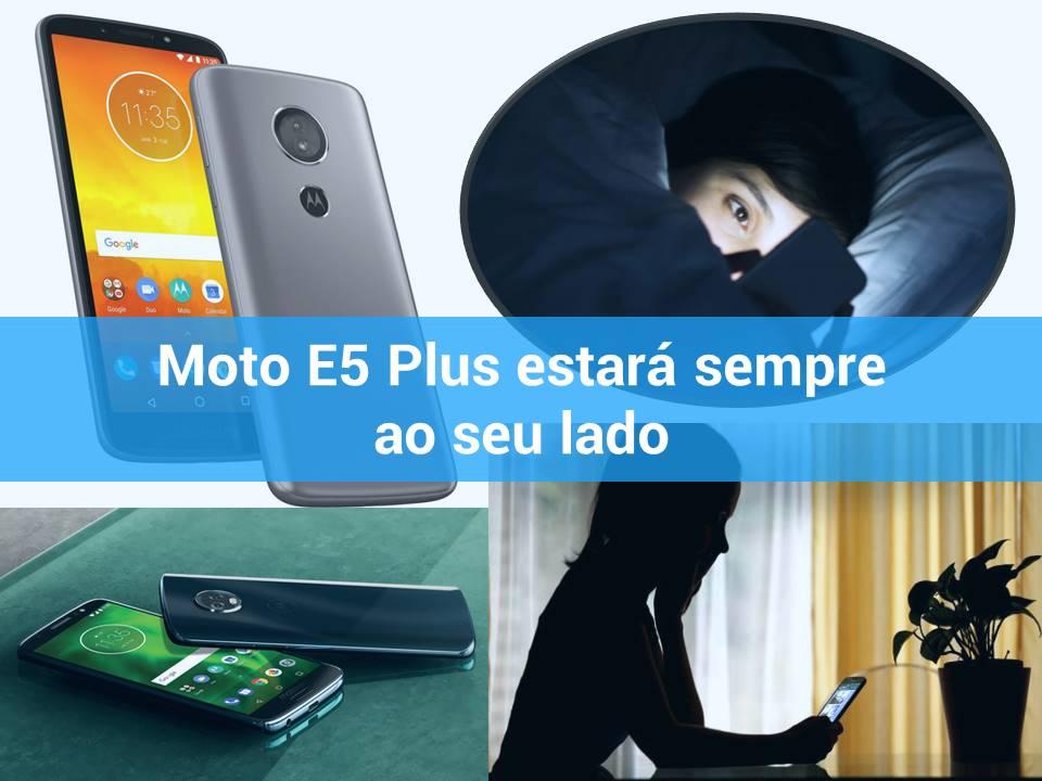 Saiba mais sobre o Moto E5 Plus