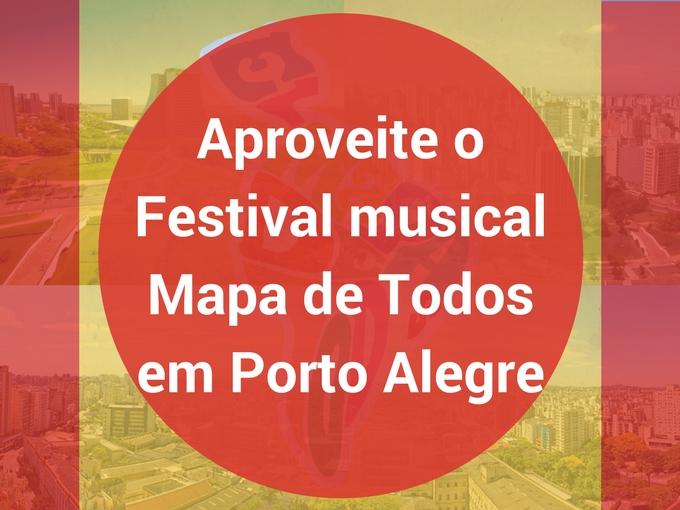 O Festival Mapa de Todos voltará em 2019