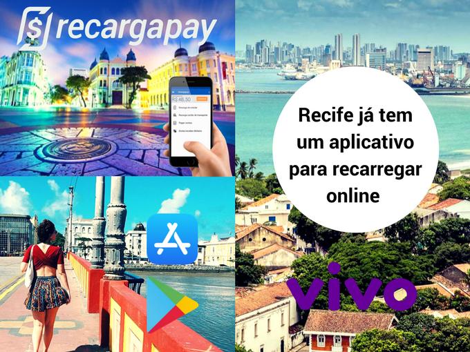 En Recife faz tua recarga online VIVO con Recargapay
