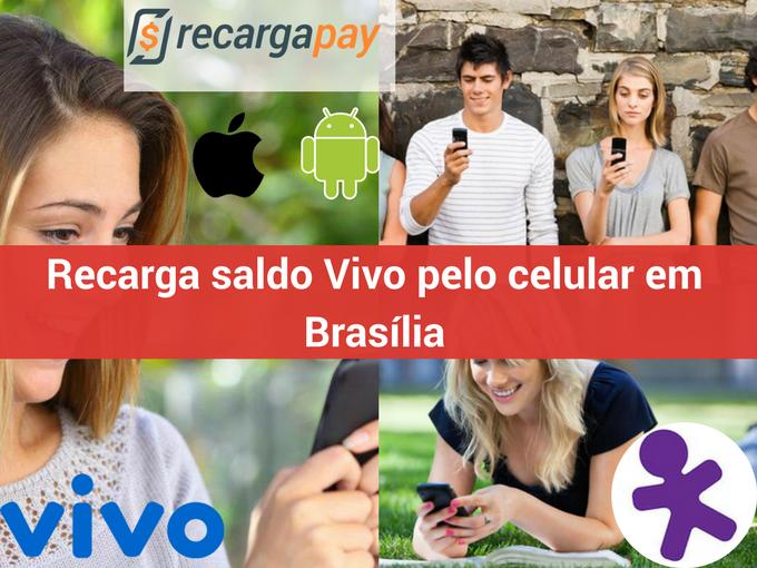 Recarga créditos Vivo em Brasília