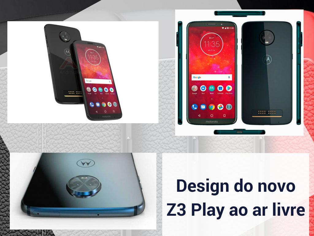 Design do novo Z3 Jogar ao ar livre