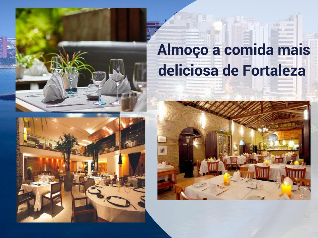 Almoço a comida mais deliciosa de Fortaleza