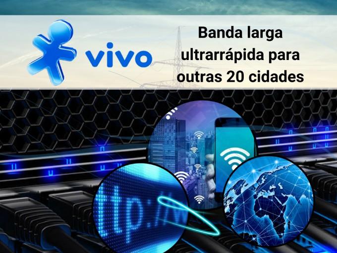Banda larga ultrarrápida de Vivo