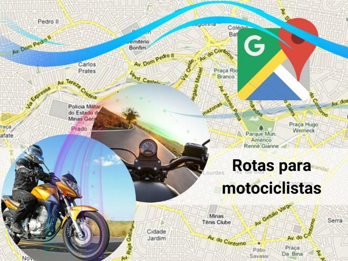 Recurso de Google Maps para motociclistas