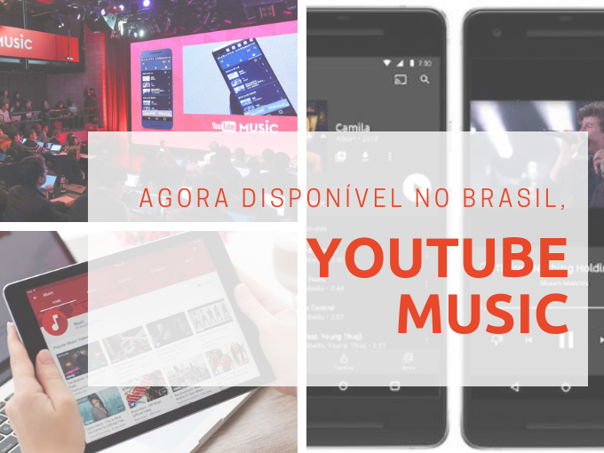 YouTube Music disponível no Brasil