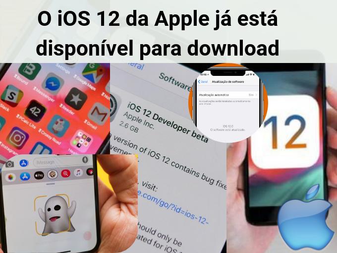 Saiba mais do iOS 12 de Apple