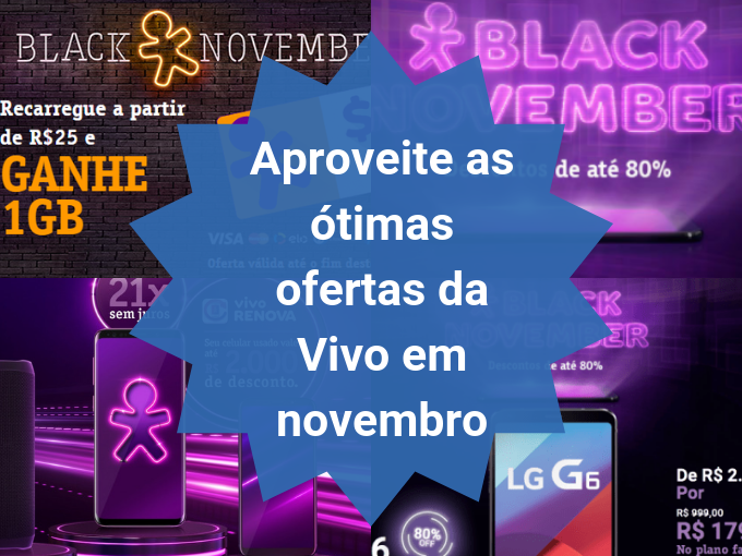 Black Friday da Vivo