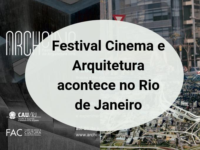 Festival de Cinema e Arquitetura no Rio de Janeiro