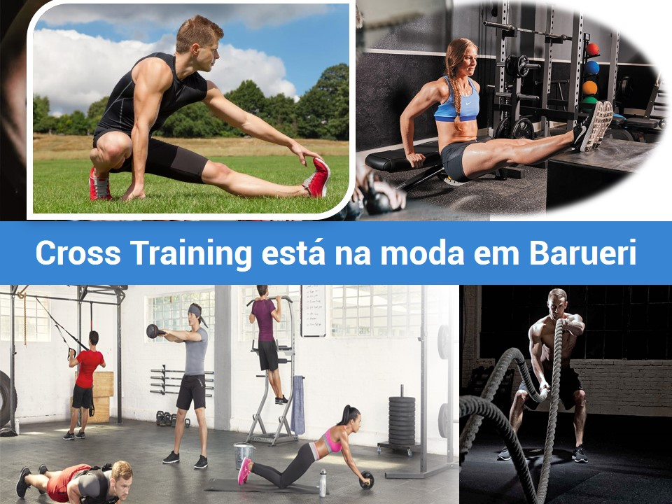 Em Barueri a maioria treina com Cross Training