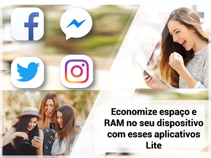 Economize espaço e RAM no seu dispositivo com esses aplicativos Lite
