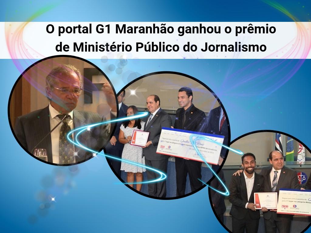 O portal G1 Maranhão ganhou o prêmio de Ministério Público do Jornalismo