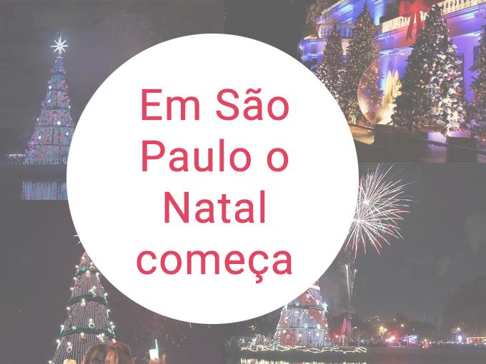 Saiba mais sobre o Natal em São Paulo