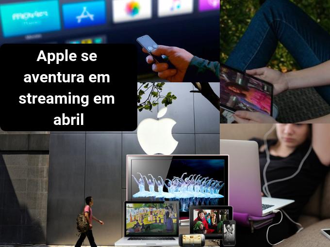 Apple pretende competir em streaming