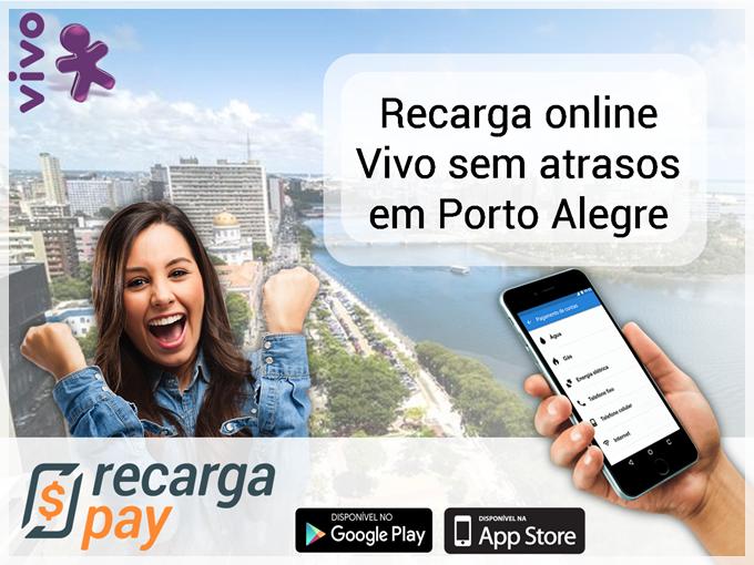 Recarga online Vivo sem atrasos em POA