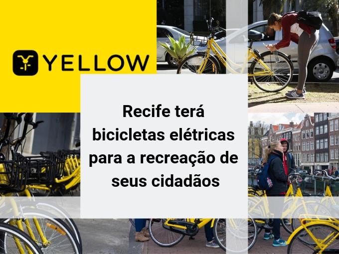 Recife terá bicicletas elétricas