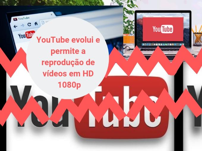 YouTube evolui e permite a reprodução de vídeos em HD 1080p