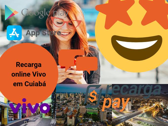 Faça sua recarga online Vivo em Cuiabá