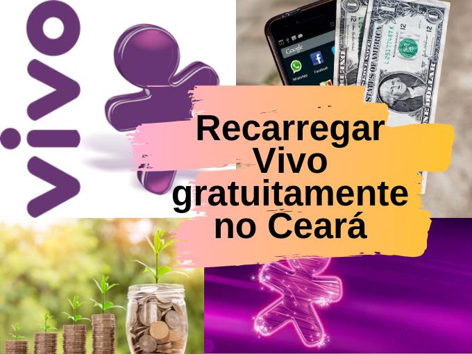 Recarregar Vivo gratuitamente no Ceará